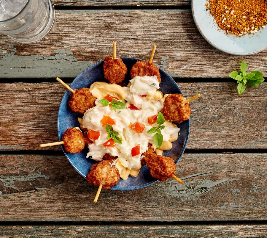 Chicken Satay Serving Suggestion